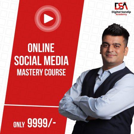 DSA:- Live Social Media Mastery Course